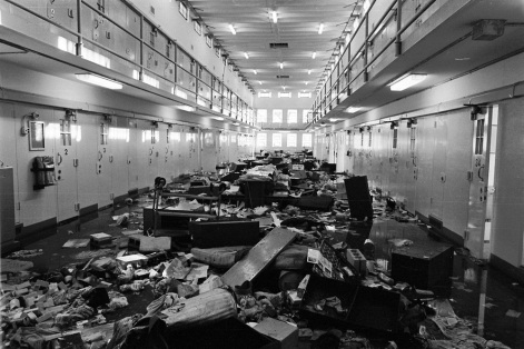 1980 prison riot, Santa Fe, NM. New Mexico Penitentiary.