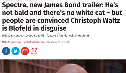 more Blofeld bullshit