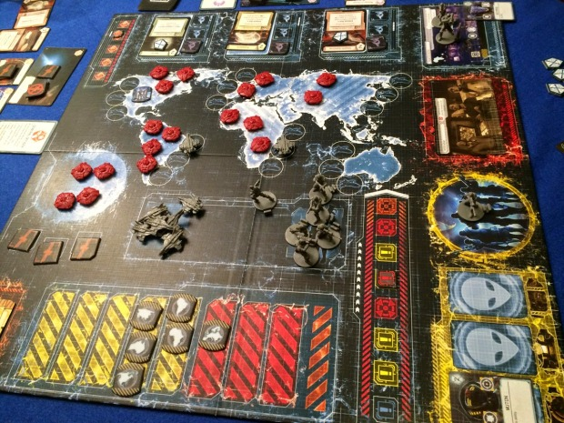 xcom board game review alien invasion