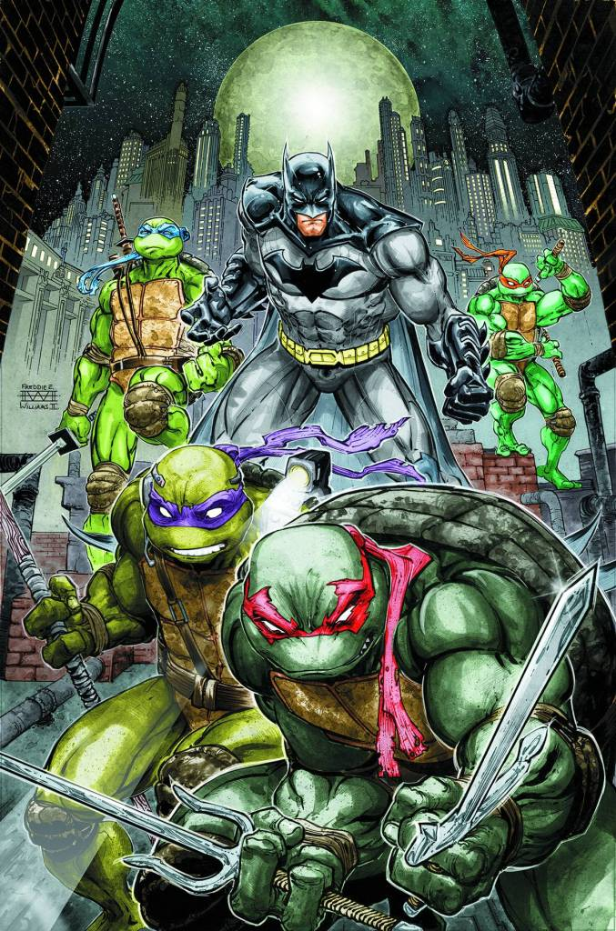 Batman, Ninja Turtles