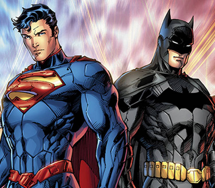 from Landyn batman and superman being gay together