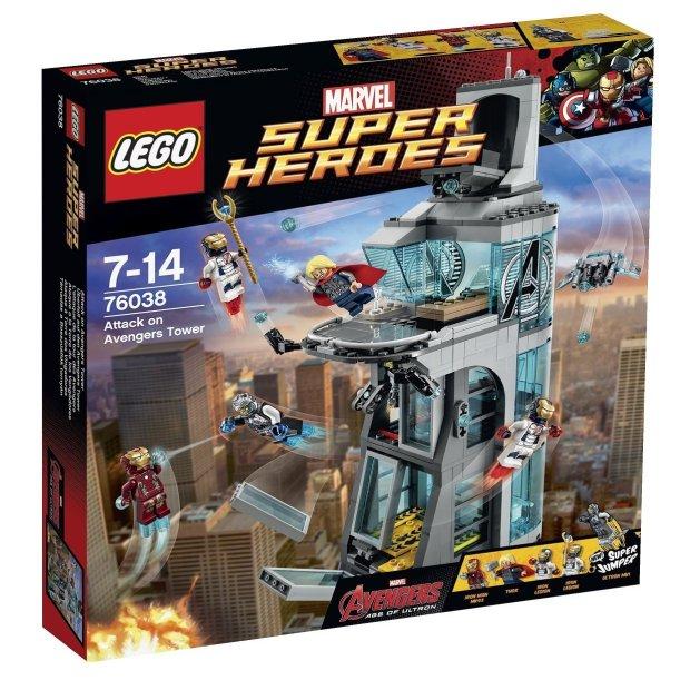 Lego Stark Tower