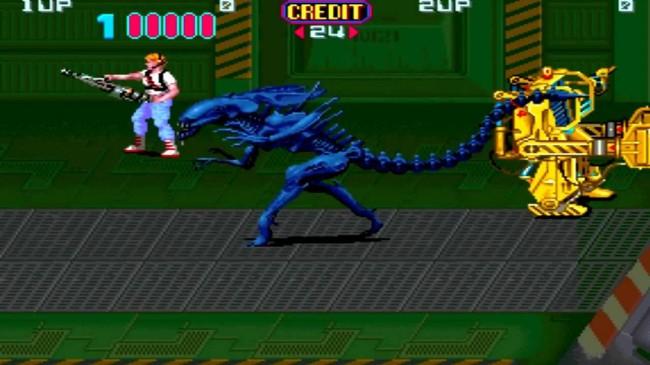 aliens arcade