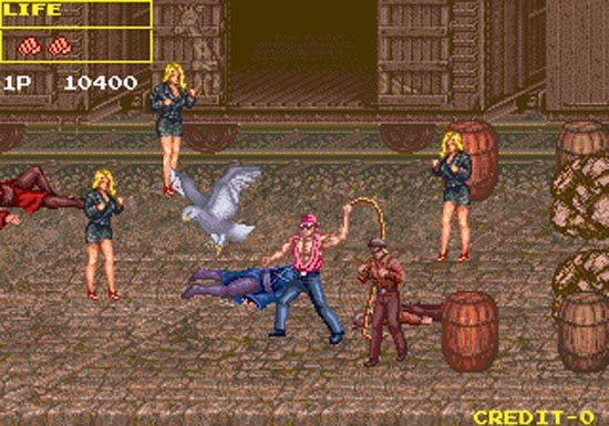 growl arcade game