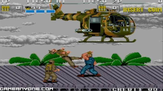 POW arcade