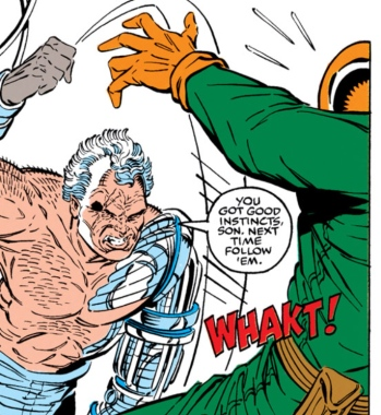 Liefeld blank action 2