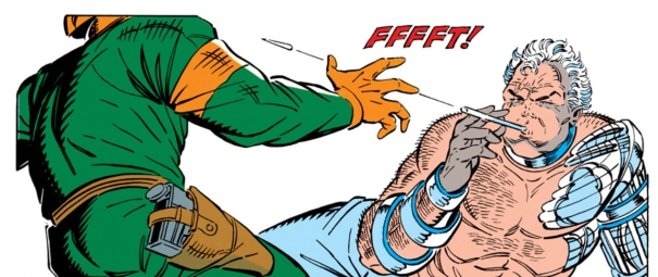 Liefeld blank action