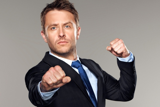 "@MIDNIGHT --Chris Hardwick Host, ""@midnight"" photo credit: Robyn Von Swank"