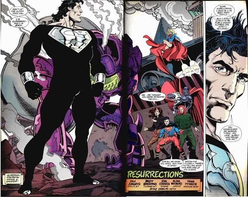 superman resurrected