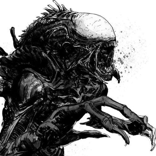 T-Rex Alien