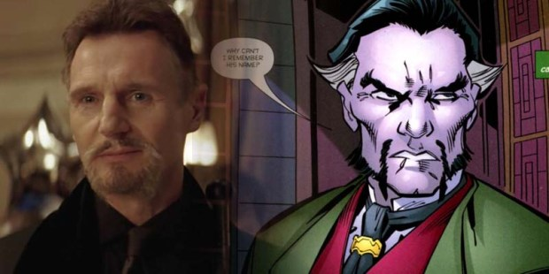 Ras al Ghul Whitewashing