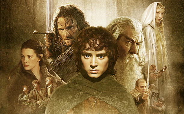 Lord of the Rings: The Fellowship of the Ring (2001) poster