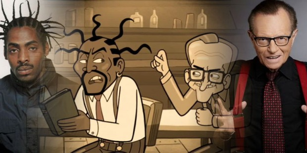 coolio-larry-king gravity falls