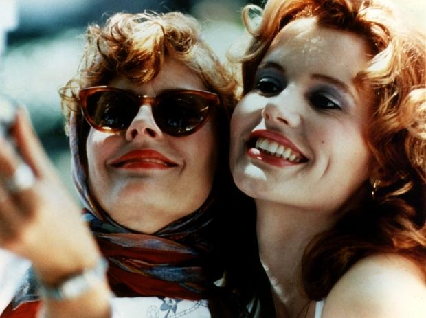 Film Thelma and Louise - Geena Davis & Susan Sarandon 1991