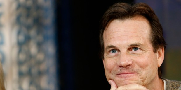 "TODAY -- Pictured: Actor Bill Paxton appears on NBC News' ""Today"" show on August 1, 2013 -- (Photo by: Peter Kramer/NBC/NBC NewsWire via Getty Images)"