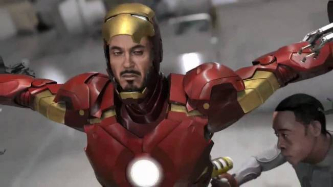 iron man 2 video game