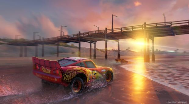 cars 3 scenery