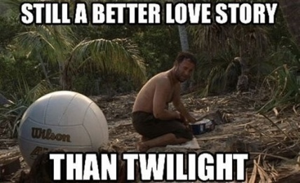 castaway still a better love story than twilight.jpeg