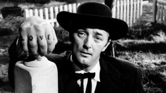 Robert Mitchum in Night of the Hunter