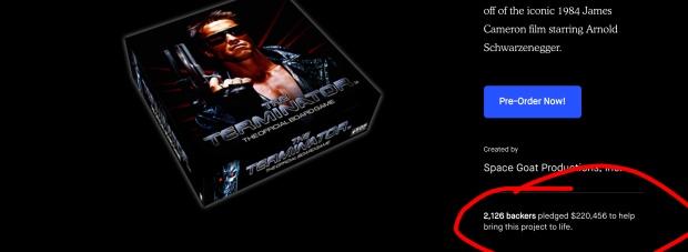 Terminator numebrs