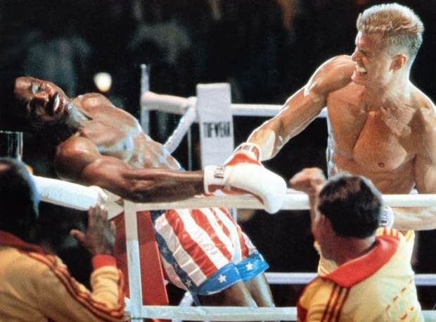 dolph-lundren-as-ivan-drago-and-carl-weathers-as-apollo-creed-in-rocky-iv